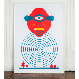 Affiche Cyclope ! - Georges
